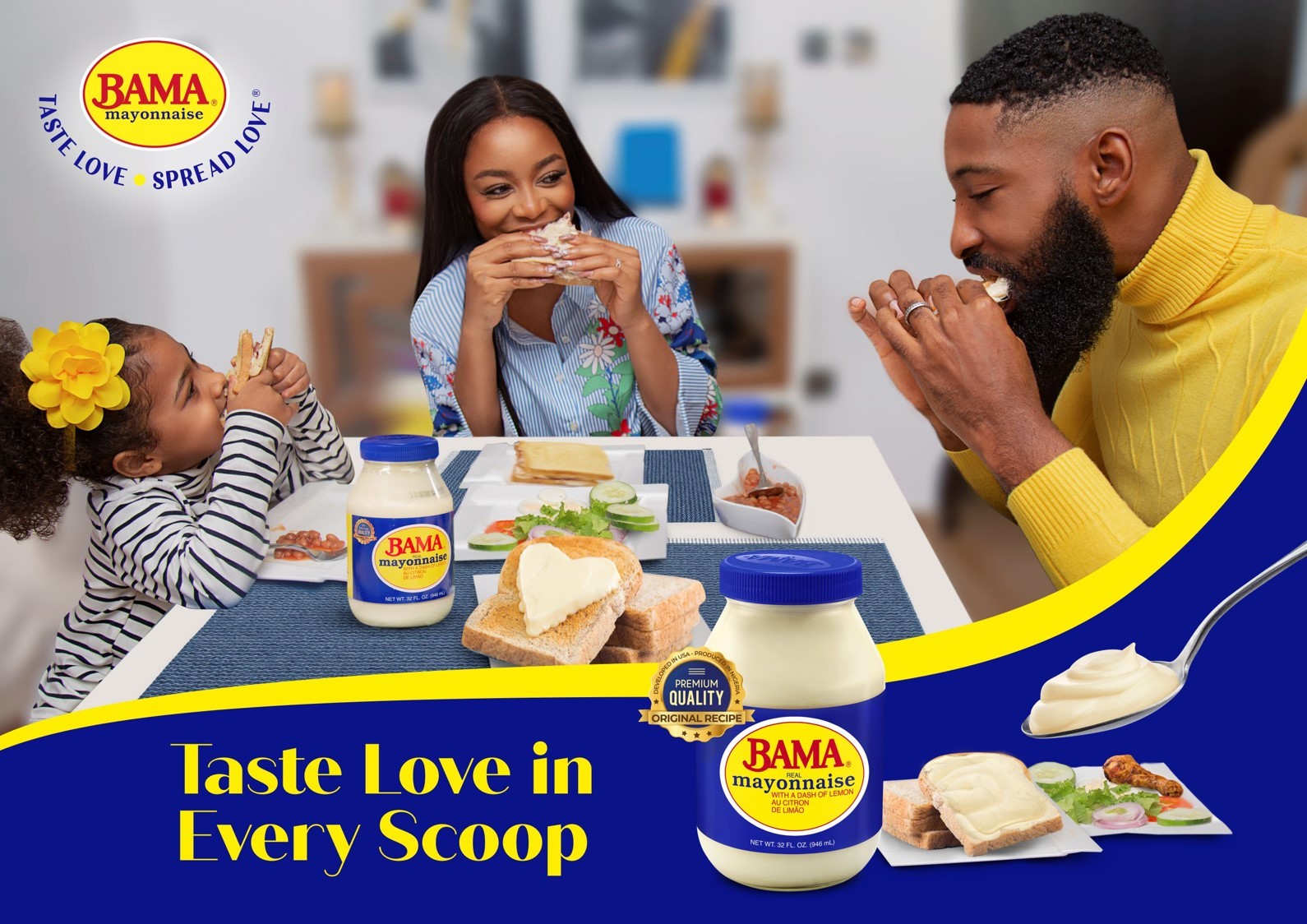 GBfoods completes Ogun plant, re-launches Bama Mayonnaise in stunning packages