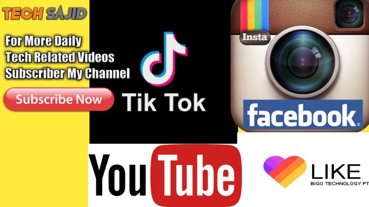 Facebook, YouTube and TikTok to hit 5.9bn users' mark in 2020