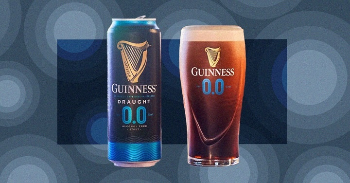 GUINESSS LAUNCHES NON ALCOHOLIC BEER, GUINESS 0.0